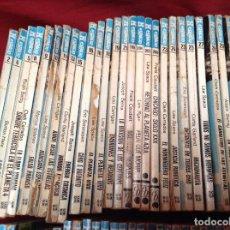 Libros antiguos: LOTE 135 BOLSILIBROS FUTURO HÉROES ESPACIO , BRUGUERA. Lote 230162265