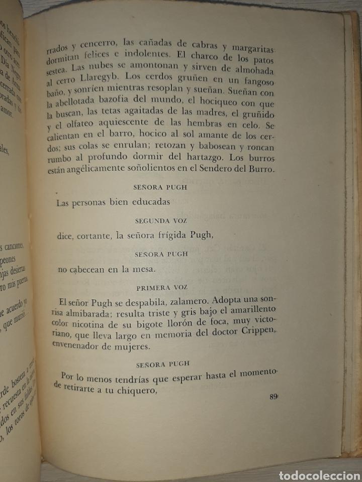Libros antiguos: Dylan THOMAS. Bajo el bosque de leche: Comedia para voces. 1959. Prólogo de Victoria Ocampo. - Foto 3 - 240874320