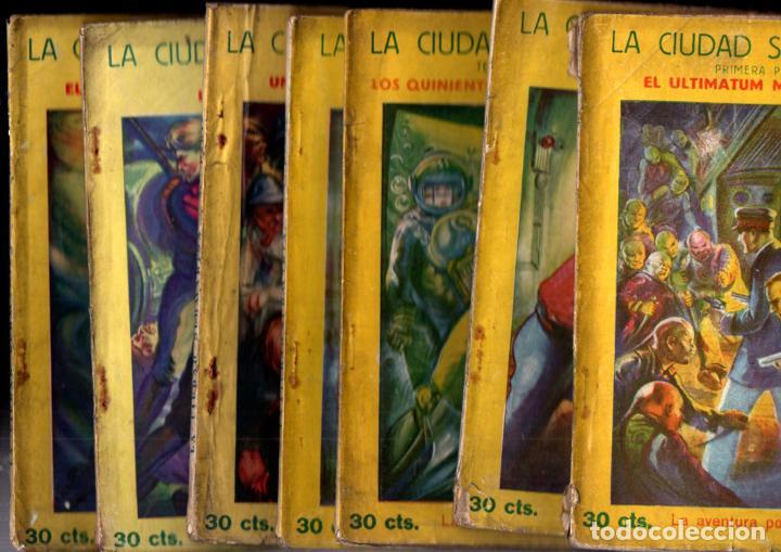 JEAN BONNERY : LA CIUDAD SUBMARINA (AVENTURA POPULAR IBERIA, 1929) COMPLETA, 7 CUADERNOS (Libros antiguos (hasta 1936), raros y curiosos - Literatura - Narrativa - Ciencia Ficción y Fantasía)