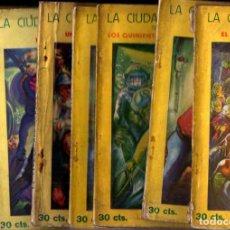 Libros antiguos: JEAN BONNERY : LA CIUDAD SUBMARINA (AVENTURA POPULAR IBERIA, 1929) COMPLETA, 7 CUADERNOS. Lote 247358900