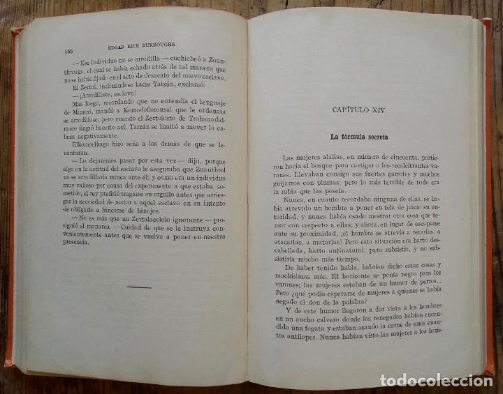 Libros antiguos: TARZÁN ENTRE PIGMEOS - Tapa dura - 1929 - Gustavo Gili - Buen estado - Foto 7 - 250216935