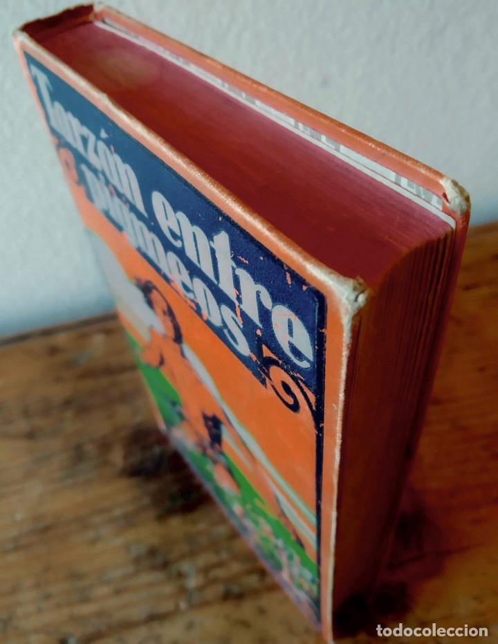 Libros antiguos: TARZÁN ENTRE PIGMEOS - Tapa dura - 1929 - Gustavo Gili - Buen estado - Foto 8 - 250216935