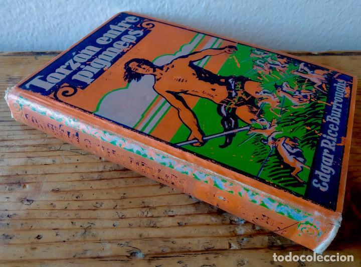 Libros antiguos: TARZÁN ENTRE PIGMEOS - Tapa dura - 1929 - Gustavo Gili - Buen estado - Foto 9 - 250216935