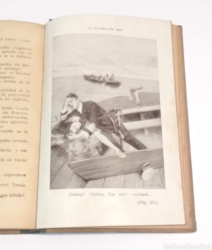Libros antiguos: LA PAGODA DE ORO - LUIGI MOTTA - NOVELA DE AVENTURAS - EDITORIAL MAUCCI BARCELONA - Foto 11 - 251869775