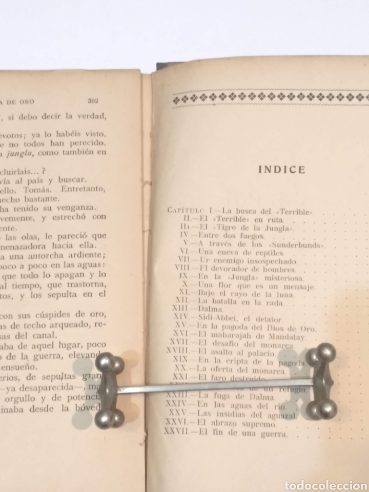 Libros antiguos: LA PAGODA DE ORO - LUIGI MOTTA - NOVELA DE AVENTURAS - EDITORIAL MAUCCI BARCELONA - Foto 14 - 251869775