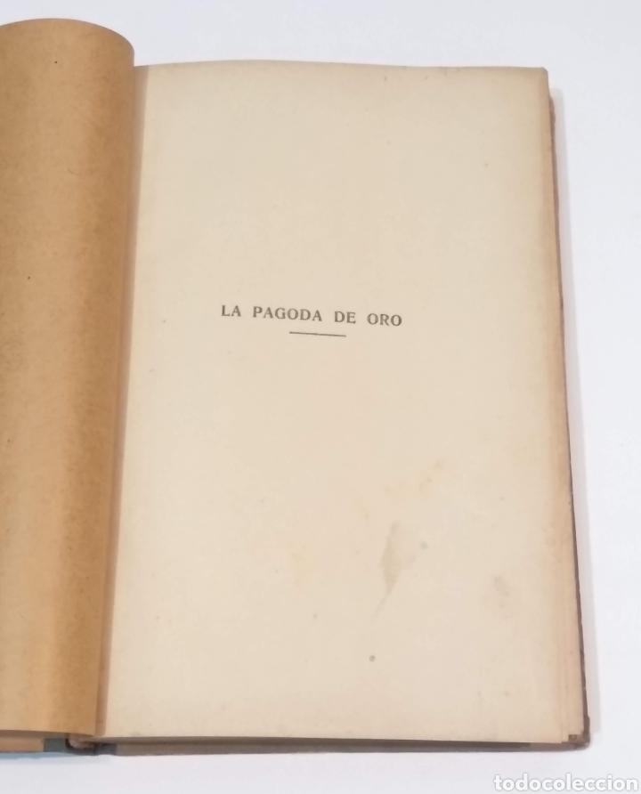 Libros antiguos: LA PAGODA DE ORO - LUIGI MOTTA - NOVELA DE AVENTURAS - EDITORIAL MAUCCI BARCELONA - Foto 5 - 251869775