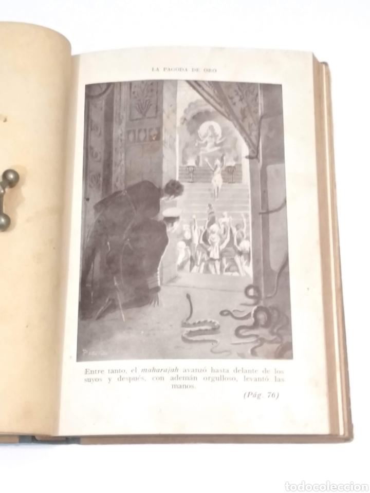 Libros antiguos: LA PAGODA DE ORO - LUIGI MOTTA - NOVELA DE AVENTURAS - EDITORIAL MAUCCI BARCELONA - Foto 10 - 251869775