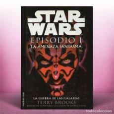 Libros antiguos: STAR WARS EPISODIO 1 LA AMENAZA FANTASMA. Lote 254395070