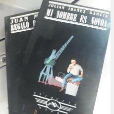 Libros antiguos: LOTE 2 NOVELAS ETIQUETA NEGRA.. JUAN MADRID Y JULIÁN IBÁÑEZ GARCÍA. Lote 263055850