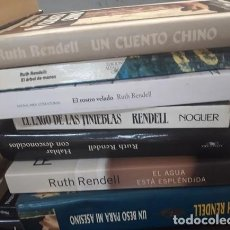 Libros antiguos: LOTE 7 NOVELAS RUTH RENDELL. Lote 263057565