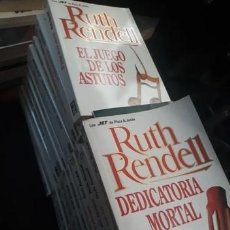 Libros antiguos: LOTE 24 NOVELAS RUTH RENDELL..P & J. Lote 263058630