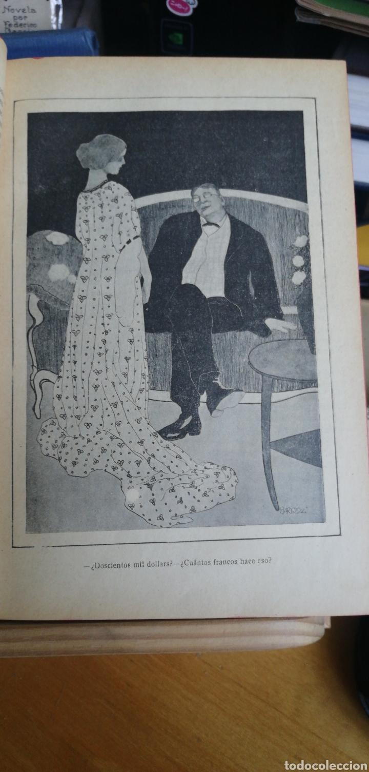Libros antiguos: La novela de ahora. Volumen 7 titulos Cajjeja 1914. El hombre si cara Z... el extrangulador - Foto 4 - 268299354