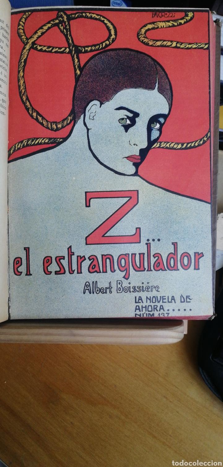 Libros antiguos: La novela de ahora. Volumen 7 titulos Cajjeja 1914. El hombre si cara Z... el extrangulador - Foto 6 - 268299354
