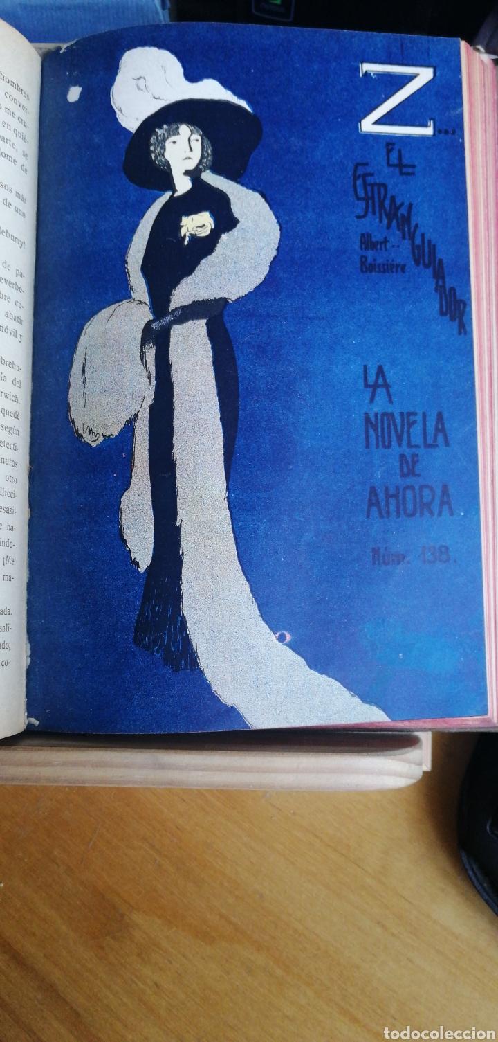 Libros antiguos: La novela de ahora. Volumen 7 titulos Cajjeja 1914. El hombre si cara Z... el extrangulador - Foto 7 - 268299354