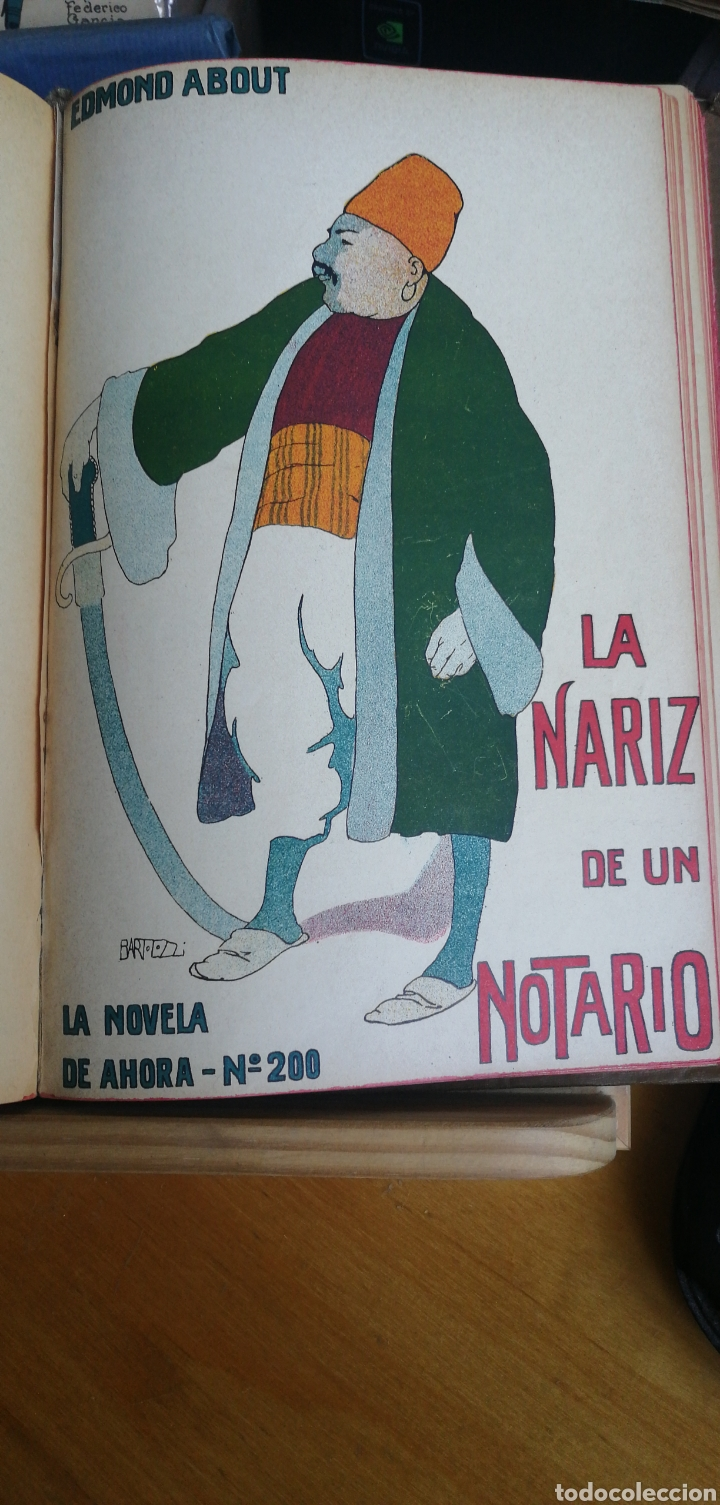 Libros antiguos: La novela de ahora. Volumen 7 titulos Cajjeja 1914. El hombre si cara Z... el extrangulador - Foto 9 - 268299354