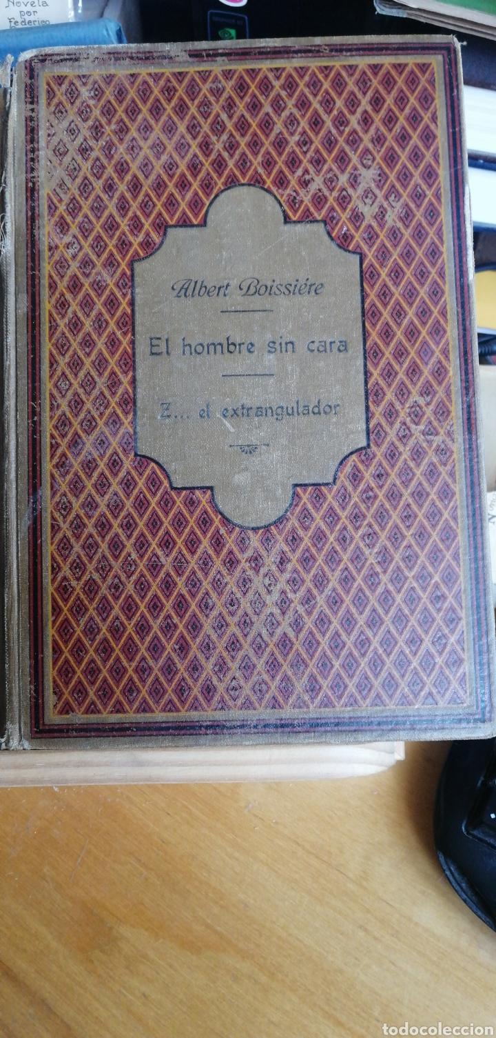 LA NOVELA DE AHORA. VOLUMEN 7 TITULOS CAJJEJA 1914. EL HOMBRE SI CARA Z... EL EXTRANGULADOR (Libros antiguos (hasta 1936), raros y curiosos - Literatura - Narrativa - Ciencia Ficción y Fantasía)