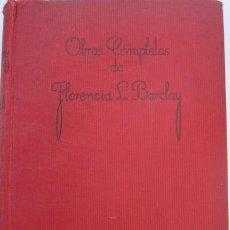 Libros antiguos: LA AUREOLA ROTA - FLORENCIA L BARCLAY. Lote 268921844
