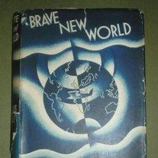 Libros antiguos: ALDOUS HUXLEY: BRAVE NEW WORLD (UN MUNDO FELIZ) 1932 PRIMERA EDICIÓN. Lote 280444648