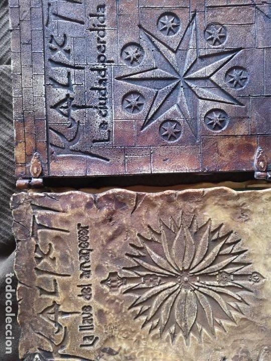 LIBRO LA LLAVE DEL AMANECER Y LA CIUDAD PERDIDA TAPA DE MADERA (Libros antiguos (hasta 1936), raros y curiosos - Literatura - Narrativa - Ciencia Ficción y Fantasía)