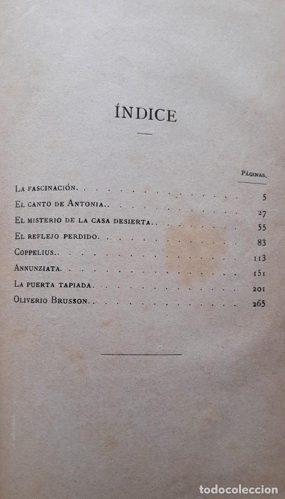 Libros antiguos: Teodoro Hoffman - Cuentos Fantásticos - Arte y Letras 1887 - Foto 2 - 286320433
