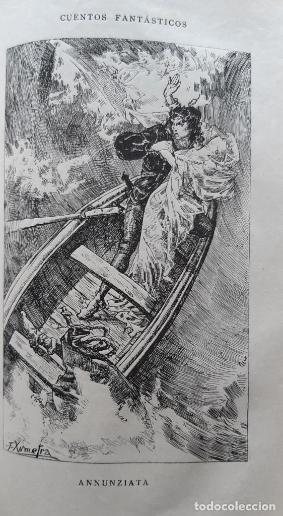 Libros antiguos: Teodoro Hoffman - Cuentos Fantásticos - Arte y Letras 1887 - Foto 3 - 286320433