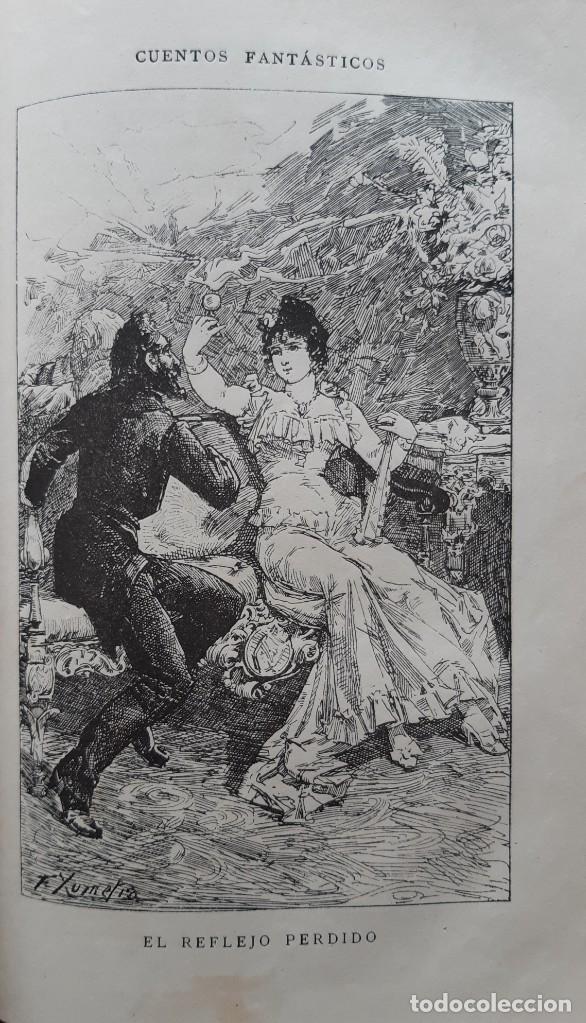 Libros antiguos: Teodoro Hoffman - Cuentos Fantásticos - Arte y Letras 1887 - Foto 4 - 286320433
