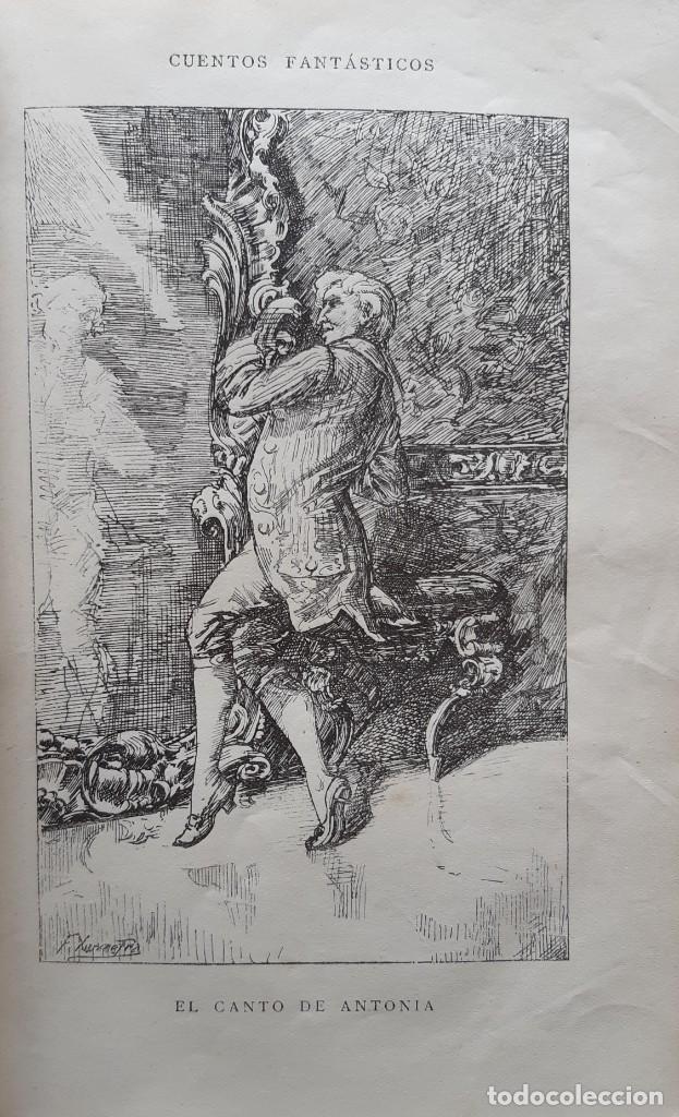 Libros antiguos: Teodoro Hoffman - Cuentos Fantásticos - Arte y Letras 1887 - Foto 5 - 286320433