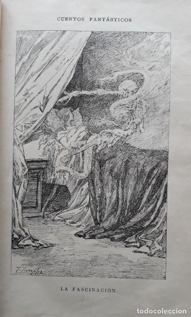 Libros antiguos: Teodoro Hoffman - Cuentos Fantásticos - Arte y Letras 1887 - Foto 6 - 286320433