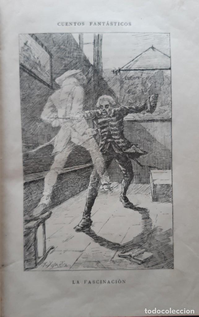 Libros antiguos: Teodoro Hoffman - Cuentos Fantásticos - Arte y Letras 1887 - Foto 7 - 286320433