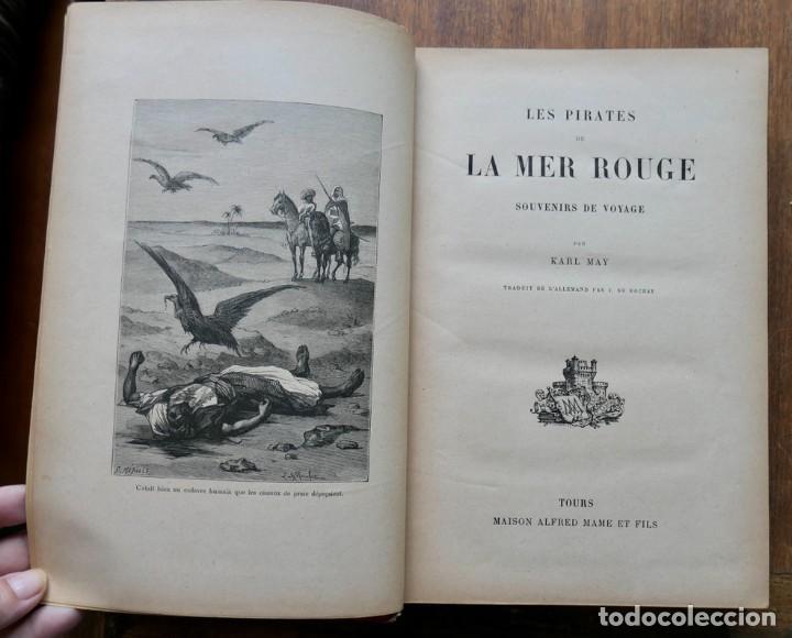LES PIRATES LA MER ROUGE- KARL MAY- ALFRED MAME (Libros antiguos (hasta 1936), raros y curiosos - Literatura - Narrativa - Ciencia Ficción y Fantasía)