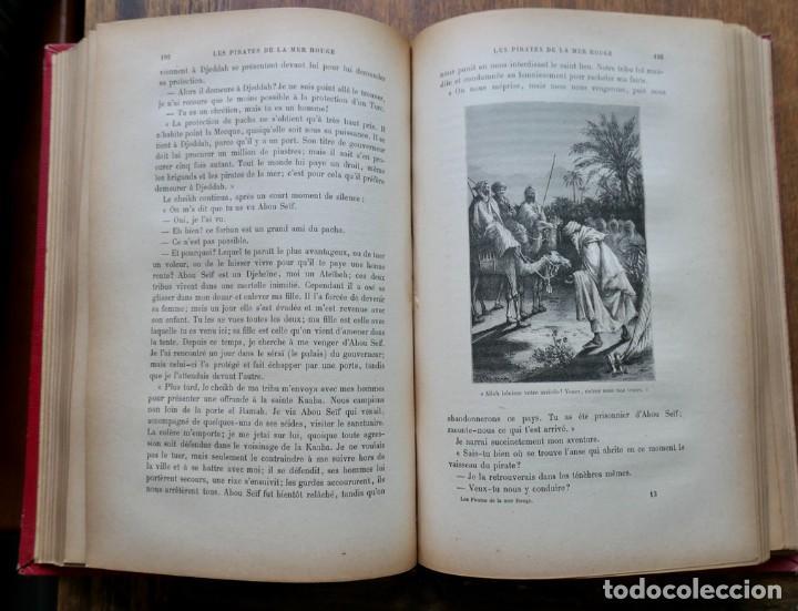 Libros antiguos: LES PIRATES LA MER ROUGE- KARL MAY- ALFRED MAME - Foto 3 - 287484313