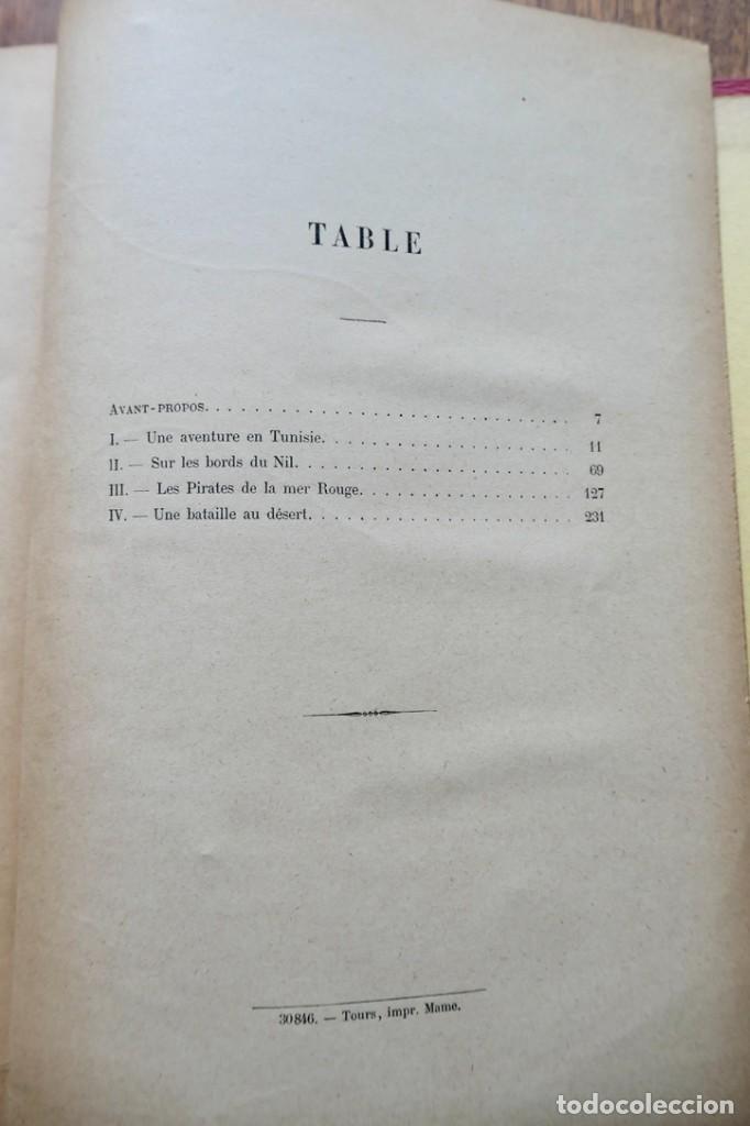 Libros antiguos: LES PIRATES LA MER ROUGE- KARL MAY- ALFRED MAME - Foto 6 - 287484313