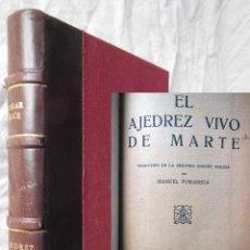 Libros antiguos: EL AJEDREZ VIVO DE MARTE. EDGAR RICE BURROUGHS. Lote 289852158