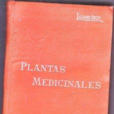 Libros antiguos: PLANTAS MEDICINALES --MANUALES SOLER 326 PGS. Lote 3175286