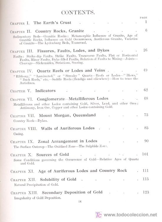 Libros antiguos: GEOLOGY OF GOLD(South Africa,Australia,New Zealand)-E.J.Dunn-424 ilustraciones.Año1929(Geología,Oro) - Foto 2 - 27605300