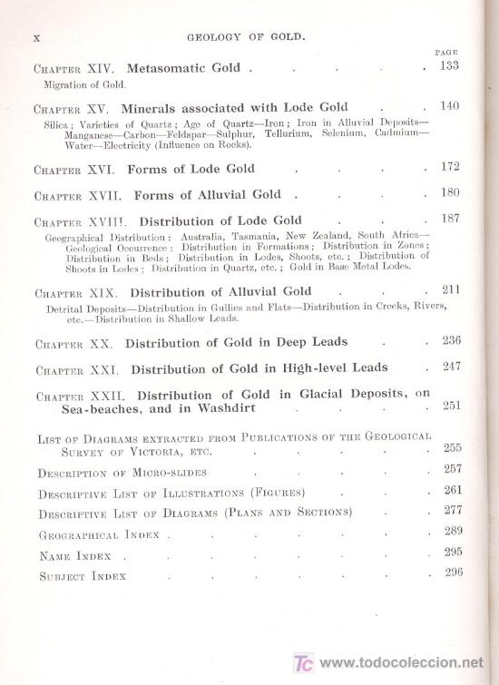Libros antiguos: GEOLOGY OF GOLD(South Africa,Australia,New Zealand)-E.J.Dunn-424 ilustraciones.Año1929(Geología,Oro) - Foto 3 - 27605300