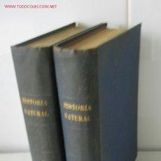 Libros antiguos: HISTORIA NATURAL DE LA CREACION. LOS ANIMALES. LAS PLANTAS. LA TIERRA. EL UNIVERSO.. Lote 13318094