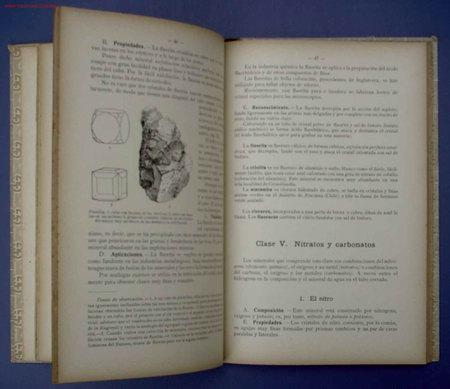 Libros antiguos: ELEMENTOS DE MINERALOGIA Y GEOLOGIA. POR SCHMEIL- PARDILLO. EDIT GUSTAVO GILI. BARCELONA, 1926 - Foto 3 - 13985506