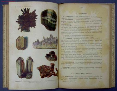 Libros antiguos: ELEMENTOS DE MINERALOGIA Y GEOLOGIA. POR SCHMEIL- PARDILLO. EDIT GUSTAVO GILI. BARCELONA, 1926 - Foto 4 - 13985506