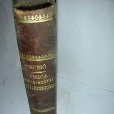 Libros antiguos: FISICA ESPERIMENTAL, V. RUBIO, 1886. Lote 26443308