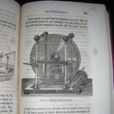 Libros antiguos: CA. 1850 - CAZIN - LAS FUERZAS FISICAS - ABUNDANTES GRABADOS. Lote 24286547