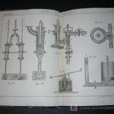 Libros antiguos: 1872 - FACERIAS Y COLETAS - EL CONSULTOR DE MAQUINARIA - MECÁNICA - TOMO I + ATLAS. Lote 20240542
