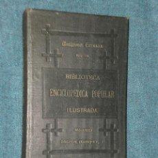 Libros antiguos: MANUAL DE ENTOMOLOGÍA (TOMO I, 1881). Lote 20168796