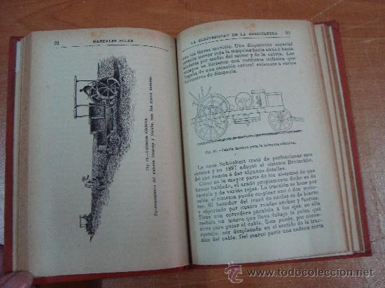 Libros antiguos: LA ELECTRICIDAD EN LA AGRICULTURA. RICARDO YESARES. MANUALES SOLER LXXVI. CIRCA 1915 - Foto 3 - 17581969