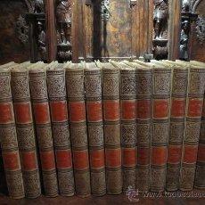 Libros antiguos: MAGNIFICA HISTORIA NATURAL EN 13 TOMOS, S.XIX. SOBERBIAS ILUSTRACIONES Y CROMOLITOGRAFIAS. Lote 17639904