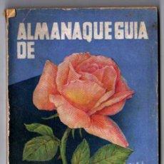 Libros antiguos: ALMANAQUE GUIA DE EL CULTIVADOR MODERNO 1936. Lote 18189012