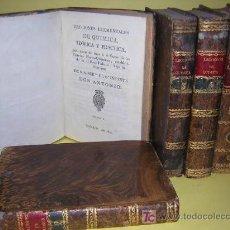 Libros antiguos: 1816 -INFANTES DON ANTONIO Y DON CARLOS -LECCIONES DE QUIMICA PARA EL CURSO ESTABLECIDDO EN PALACIO. Lote 26683907