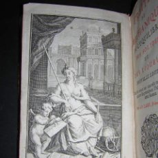 Libros antiguos: 1734 - LAMY - TRAITEZ DE MECHANIQUE - ABUNDANTES ILUSTRACIONES. Lote 26770702