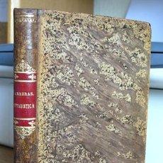 Libros antiguos: 1873. TRATADO ELEMENTAL DE ESTADÍSTICA.. Lote 26282378