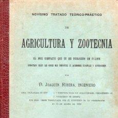 Libros antiguos: NOVISIMO TRATADO TEORICO PRACTICO DE AGRICULTURA POR JOAQUIN RIBERA INGENIERO TOMO 2 Y TOMO 4 1894. Lote 26851187